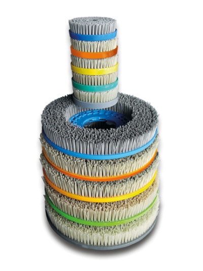 Finalit Diamantbürsten für Bodenmaschine, 380 mm - Hartgesteine